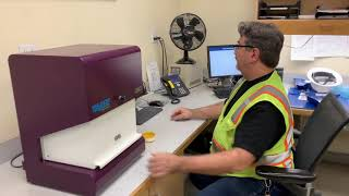 Vibe QM3 Analyzer in action at customer's site