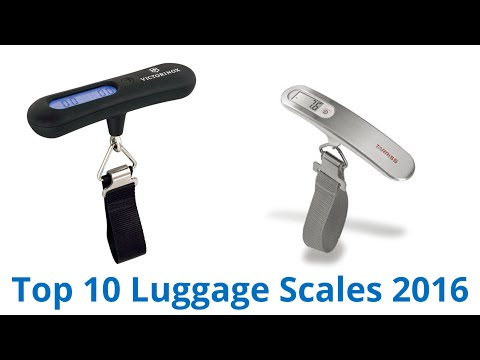 10 Best Luggage Scales 2016