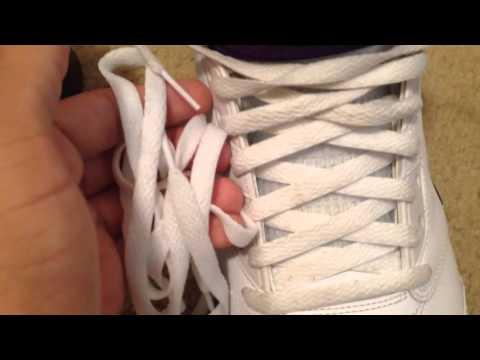Restoration: General cleaning Air Jordan 5 Grapes