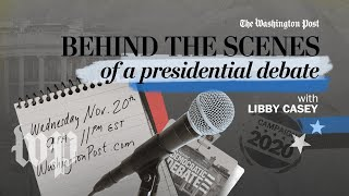 Go behind the scenes of a presidential debate | How to be a journalist