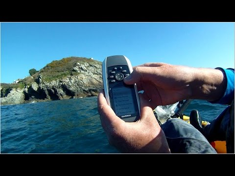 Kayak Fishing - Fishing a New Mark - Navigating Using GPS