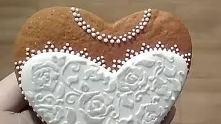 #Мойсладкиймир. Свадебный пряник Невеста