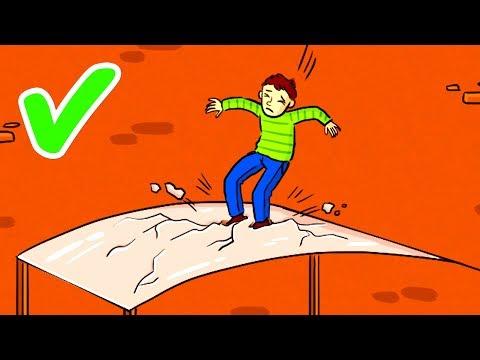 Çok Yüksekten Düşüp Hayatta Kalmanın Tek Yolu