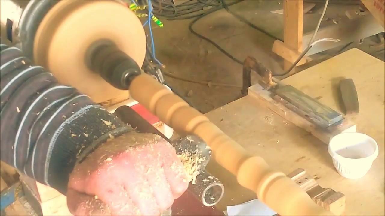 come costruire tornio per legno con motore di lavatrice