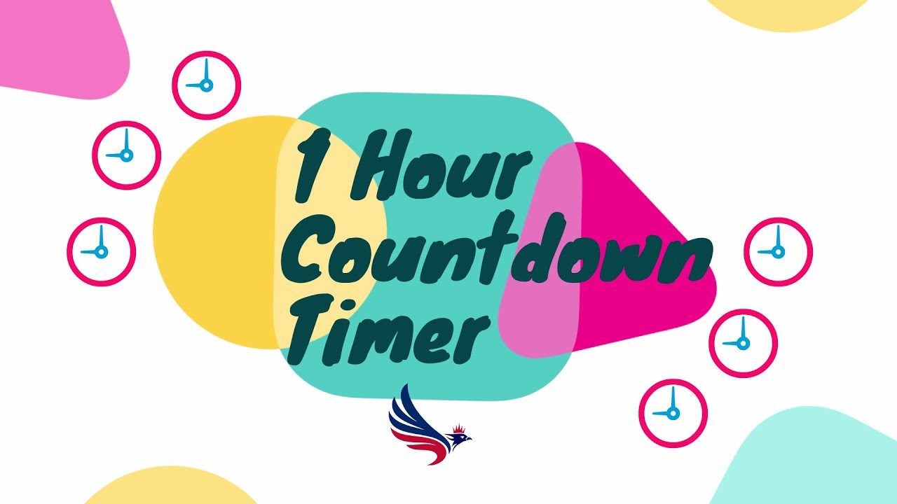 1 Hour Countdown Timer with Music | and Alarm at the end (60Min)
