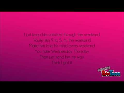 SZA- The Weekend Lyrics!!