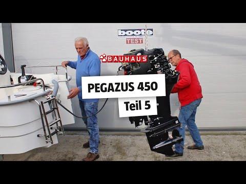 Motorboot selber bauen ► Der Motor kommt rein ⚓ BAUHAUS Nautic (Teil 5)