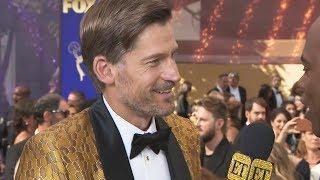 Emmys 2019: Game of Thrones Star Nikolaj Coster-Waldau Rocks Lannister Gold