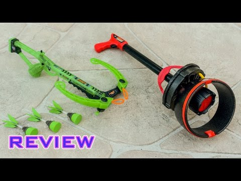 [REVIEW] Zing Firetek Zyclone & Crossbow | Group Review!