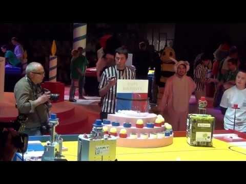 2013 - uART vs ALPOBOT - Coupe de France de robotique 2013