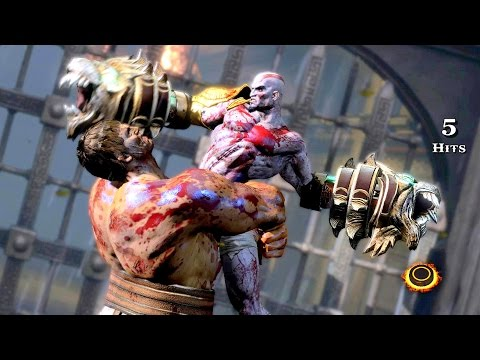 God of War 3 Remastered Walkthrough Hercules Boss Fight Ep 9