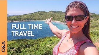 How we afford to travel full time, becoming a travel blogger, etc | Q&A