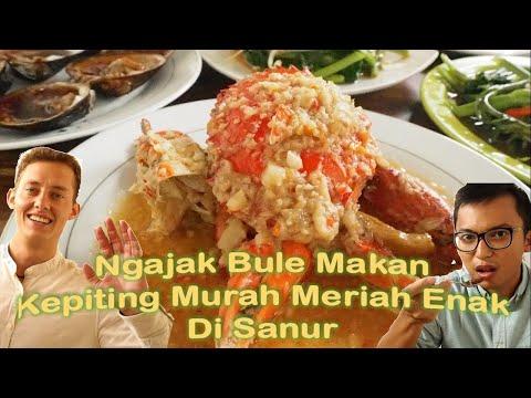 reaksi-bule-makan-kepiting-&-seafood-bali-murah-di-warung-pan-kuncung,-sanur-||-aradika-x-joshua