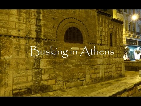 Busking in Athens: Full of Music, Full of Love (Jam, Ermou Street)