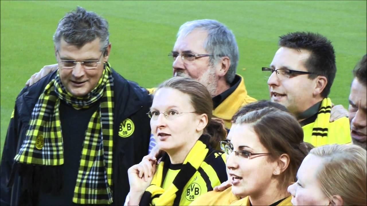 BVB - Wolfsburg Leuchte auf mein Stern Borussia Dortmund mit Nobby Dickel