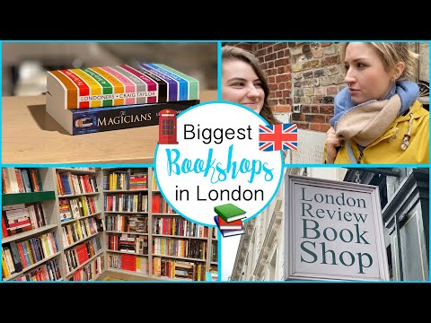 BIGGEST BOOKSHOPS IN LONDON 🇬🇧| BookTube 📚