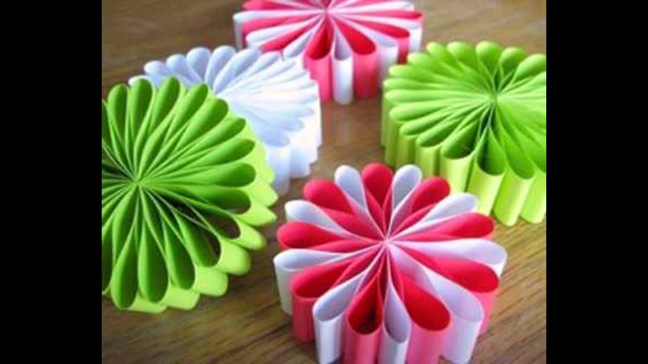 Holiday paper crafts ideas home art design decorations for Art and craft ideas for decoration