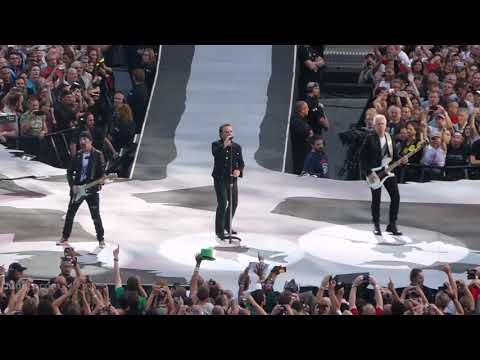 U2 Sunday Bloody Sunday, Brussels 2017-08-01 - U2gigs.com