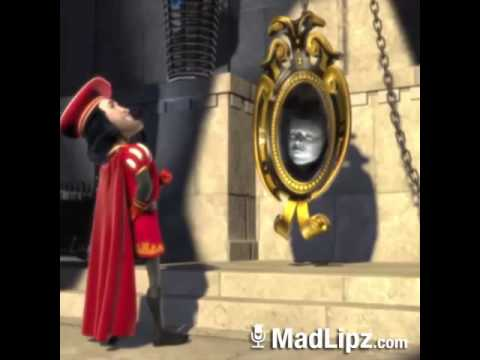 Mini parodie de shrek miroir miroir youtube for Miroir magique production