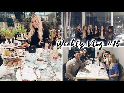 WE HIRED A PRIVATE CHEF, DINNER AT THE SHARD SHANGRI-LA & MAD HATTERS TEA Weekly Vlog #15