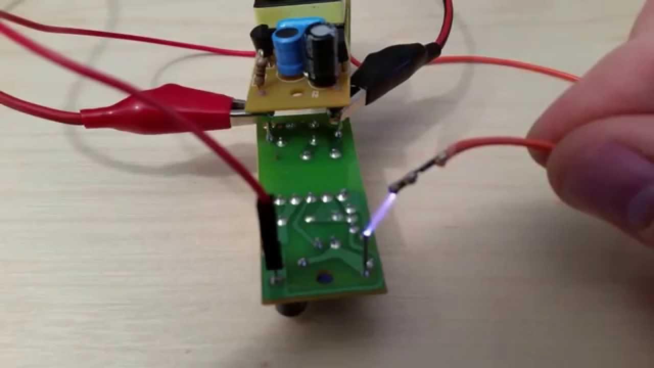 Ccfl Inverter Simple Electric Arc Generator Ii Youtube