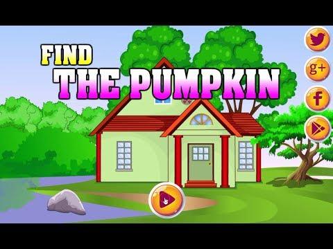 AVM Find The Pumpkin walkthrough AVMGames.