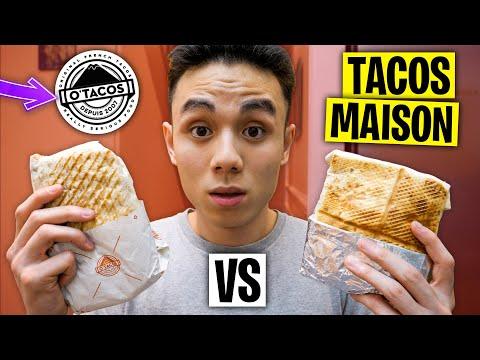 O'TACOS vs TACOS MAISON !! 🌯