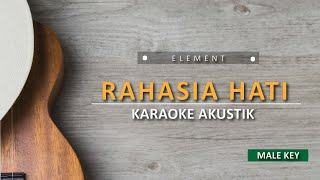 Download Lagu Rahasia Hati - Element (Male Karaoke Akustik) mp3