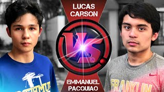 Emmanuel PACQUIAO vs. Lucas CARSON [Official Fight Trailer]