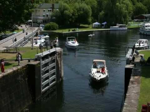 Rideau Canal - Jones Falls Lockstation Photo Tour