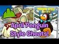April Penguin Style Cheats 2019! (Club Penguin Rewritten)