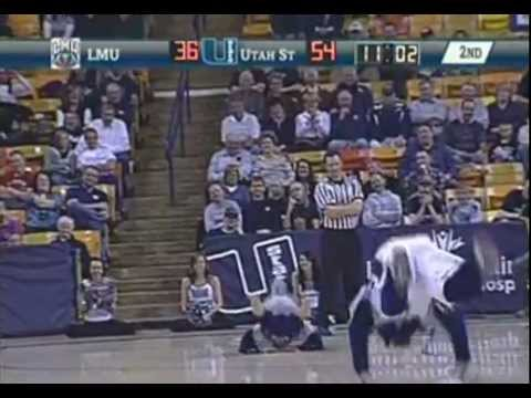 Big Blue and Little Blue - Utah State Aggie Basketball