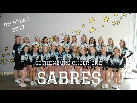 GCO Sabres DM Södra 2017