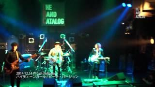 スタジオペンタ主催のフリーライブ【The Band Catalog】。2014年12月14...