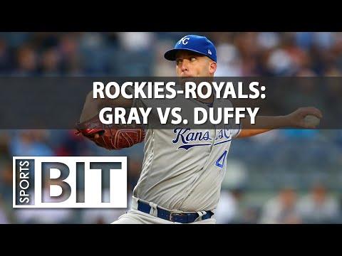 Colorado Rockies at Kansas City Royals | Sports BIT | MLB Picks