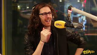 Hozier Interview - on-air with brilliant fan, signing with Mavis Staples, his funny tweets and more