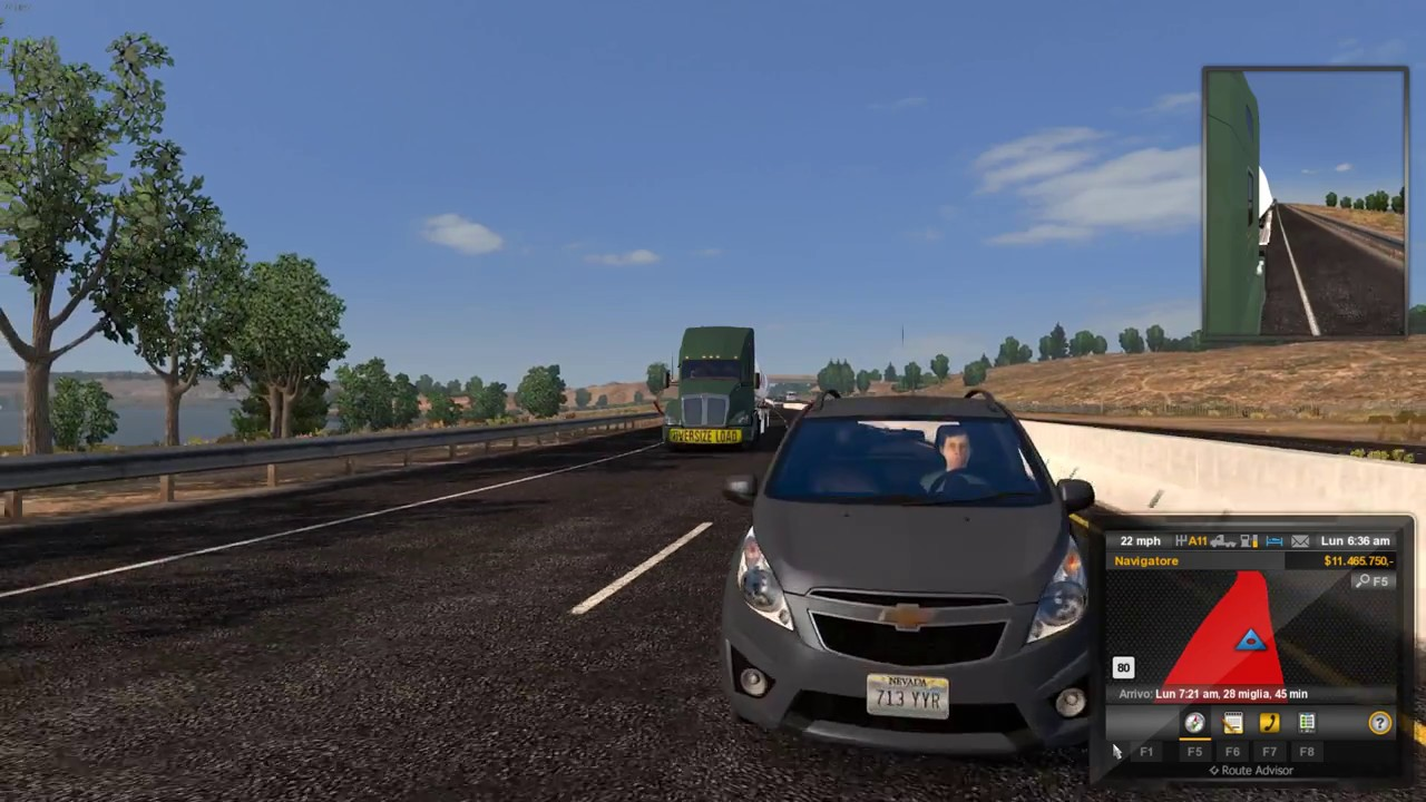 American Truck Simulator (1 28) AI Traffic Pack by Jazzycat v 2 9 + DLC's &  Mods