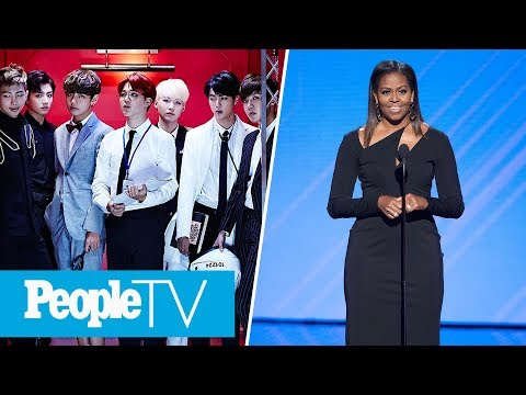 BTS Announced As 'Next Generation Leaders,' Michelle Obama On Day of the Girl | PeopleTV Mp3