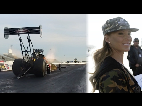 [HOONIGAN] Leah Pritchett 11,000hp Top Fuel Dragster testing