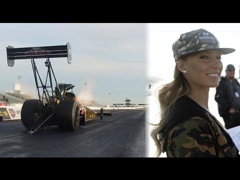 [HOONIGAN] Leah Pritchett 11,000hp Top Fuel Dragster testing