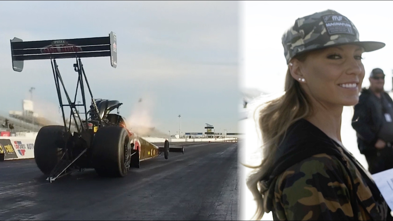 HOONIGAN] Leah Pritchett 11,000hp Top Fuel Dragster testing - YouTube