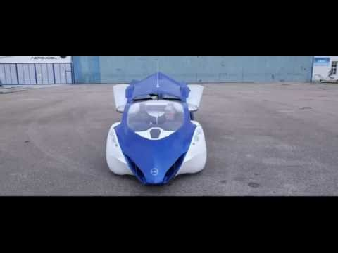 AeroMobil 3.0 – Official Video – World Premiere at Pioneers Festival 2014