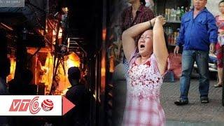 Hoảng loạn vì cháy lớn ở trung tâm Sài Gòn | VTC