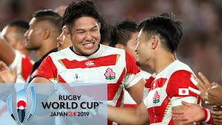 Rugby World Cup 2019: Japan makes history; USA loses | Wake up with the World Cup | NBC Sports