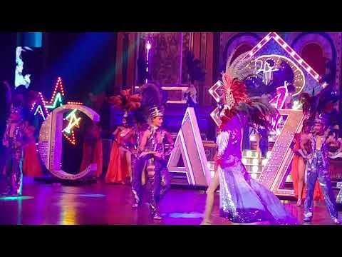 Alkazar Show opening scene thailand April 2018
