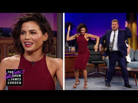 Jenna Dewan & James Corden Know Janet Jackson's Moves