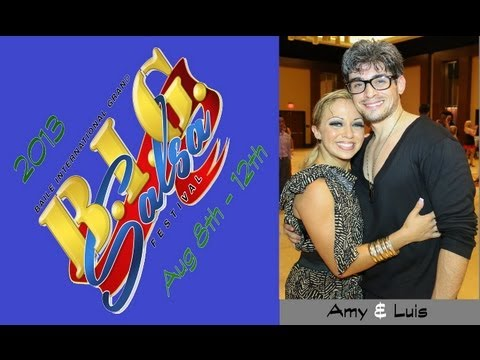 BIG Salsa Festival 2013| Amy Dominguez & Luis Collazo | Social Dancing