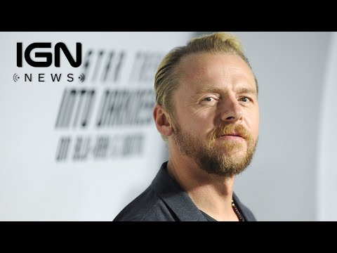 Simon Pegg Is Not Writing The Script For The Next Star Trek Movie - IGN News