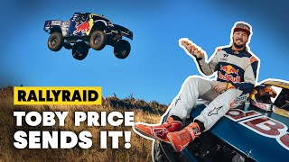 Dakar Champion Takes A Wild Ride In A Trophy Truck | Toby Price Cracked