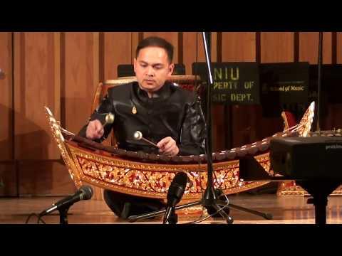 Thai Xylphone Solo (Ranad Ek) at Northern Illinois University  School of Music
